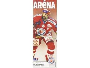 Program hokej, Aréna, HC Slavia Praha v. HC Mountfield, 2006