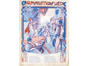 Časopis Humoristické listy, 1928