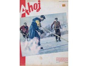 Časopis Ahoj, hokej, 1941