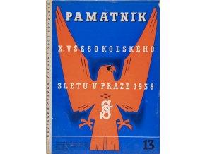Časopis památník , Všesokolský slet v Praze, 131938