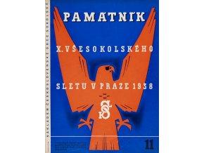 Časopis památník , Všesokolský slet v Praze, 111938