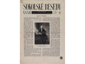 Sokolské besedy, list dorostu, 19347