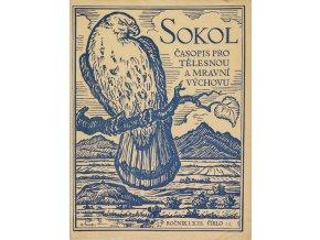 SOKOL, Časopis pro tělesnou a mravní výchovu, 193712