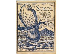SOKOL, Časopis pro tělesnou a mravní výchovu, 193812