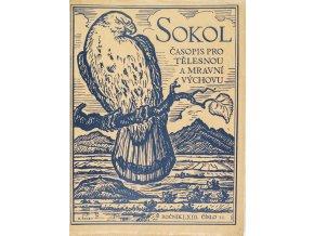 SOKOL, Časopis pro tělesnou a mravní výchovu, 193711