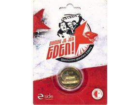 Pamětní mince, Domov je jen EDEN, 2008 , obal (1)