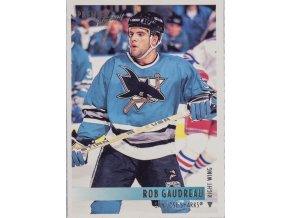 Hokejová kartička, Rob Gaudreau, San Jose Sharks, 1994 (1)