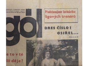 GÓL. Fotbalový a hokejový týdeník, 301977 (1)