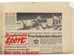 Noviny Československý sport, 1141978