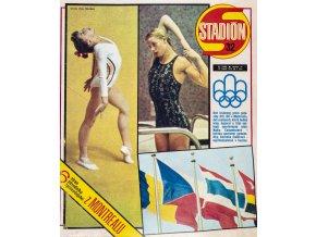 Časopis STADION, ročník 24, 10.VIII..1976 číslo 32 (1)