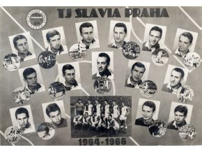 Fotografie, koláž, TJ Slavia Praha, 1964 1966