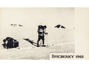 Pohlednice Špicberky, 1968 (1)