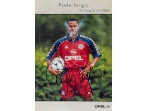 Podpisová karta autogram Paulo Sergio, FC Bayern Munchen (1)