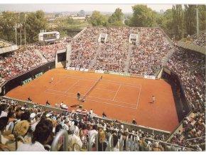 Pohlednice Centrální tenisový dvorec