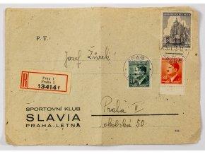CELISTVOST Sportovní klub Slavia Praha Letná, 1945 (2)