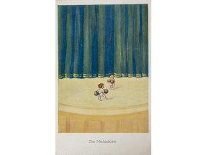 Dobová pohlednice, fotbal, Die Matadore, 1926 (1)