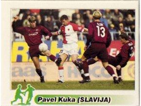 Kartička Pavel Kuka ( Slavija)