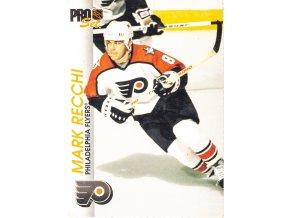 Hokejová kartička, Mark Rechi, Philadelphia Flyers, 1999 (1)