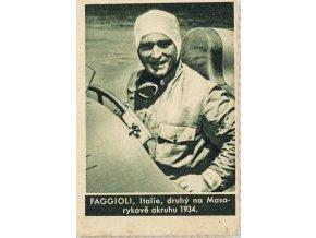 Kartička , Album sportovců, Faggioli, č. 194