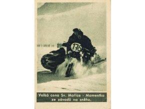 Kartička , Album sportovců, Velká cena Sv. Mořice, č. 182