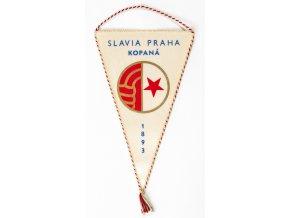 Vlajka klubová Bohemians ČKD Praha, 75 let (3)