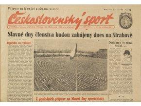 Noviny Československý sport, 791955