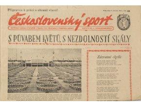 Noviny Československý sport, 801955