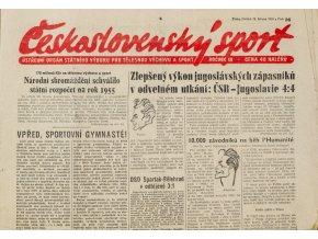 Noviny Československý sport, 361955