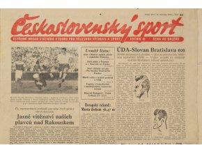 Noviny Československý sport, 861955