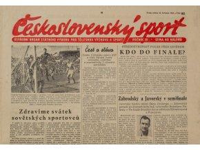 Noviny Československý sport, 851955