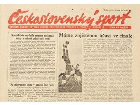 Noviny Československý sport, 831955