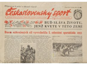 Noviny Československý sport, 811955