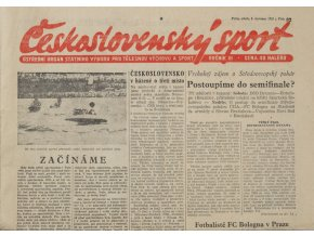 Noviny Československý sport, 821955 (1)