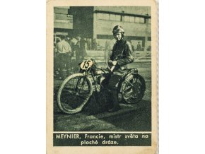 Kartička , Album sportovců, Meynier, č. 172