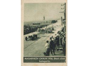 Kartička , Album sportovců, Masarykův okruh 1934, č. 197
