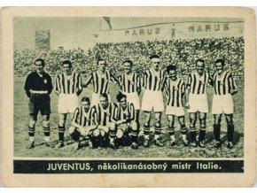 Kartička , Album sportovců, Juventus, č. 32