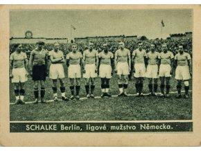 Kartička , Album sportovců, Schalke Berlin, č. 59 1