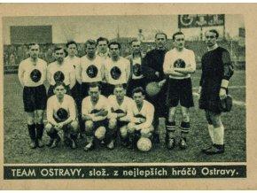 Kartička , Album sportovců, Team Ostravy, č. 69