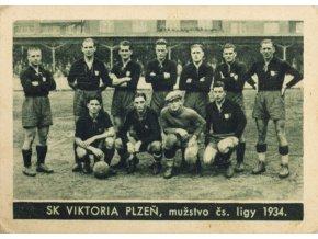 Kartička , Album sportovců, SK Viktoria Plzeň, č. 12
