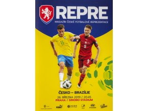 Program Repre, Česká republika v. Brazílie, 2019