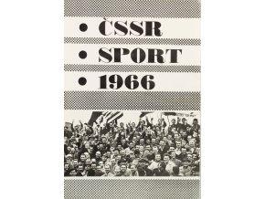 Bulletin ČSSR SPORT 1966 Football in Czechoslovakia