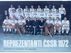 Název Sada pohlednic ČSSR MS hokej 1972 2
