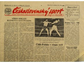 Noviny Československý sport, 1401955 (1)
