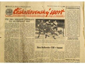Noviny Československý sport, 1361955