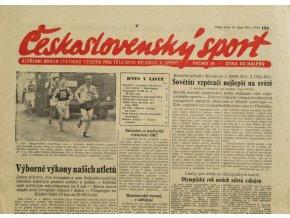 Noviny Československý sport, 1251955