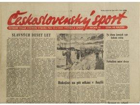 Noviny Československý sport, 1301955