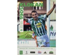Program Klokan 1905, Bohemians 1905 v. FK Pardubice, 92012