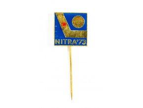 Odznak hokej, Nitra, 1973