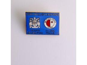 Odznak UEFA Leeds United vs Slavia Praha 2000