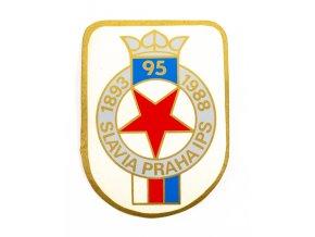 Samolepka, 95, Slavia Praha IPS, , 1893 1988